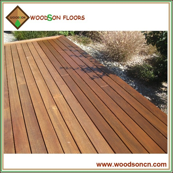 Solid Outdoor Wood Decking