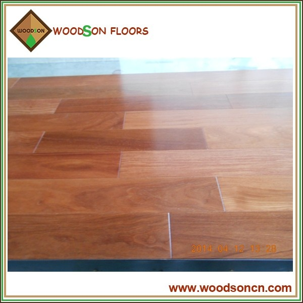 Smooth Solid Cumaru Hardwood Floor