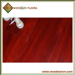 Red Stain Solid Bamboo Flooring