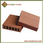WPC Decking Floors With Grooves