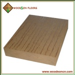 Solid WPC Decking Floors For Balcony