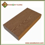 Solid Wooden Grain WPC Decking