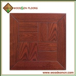 PF018 Red Wine Oak Engineered Parquetry Flooring