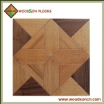PF019 American Walnut And Oak Parquet Flooring