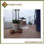Outdoor Garden WPC Flooring