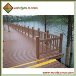 Outdoor Garden WPC Laminate Flooring