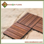 Carbonized Bamboo Decking Floor