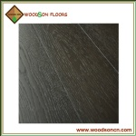Black Dark Stained Oak Wood Flooring